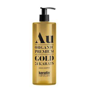 Keratin Nanocure® Au Gold Shampoo 500ml